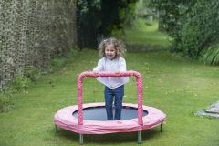 "48"" Mini Bouncer - Pink Bunny"