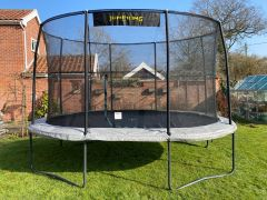 7ft x 10ft JumpKing Oval Professional Trampoline