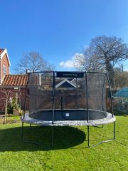 8ft x 11.5ft JumpKing Oval Professional Trampoline - Pre Sale!